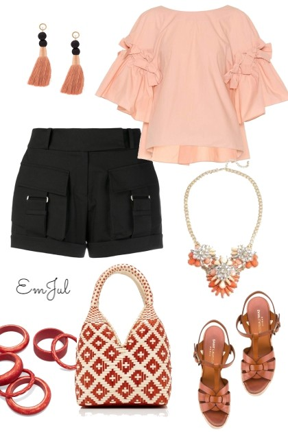 Pink Blouse- Fashion set