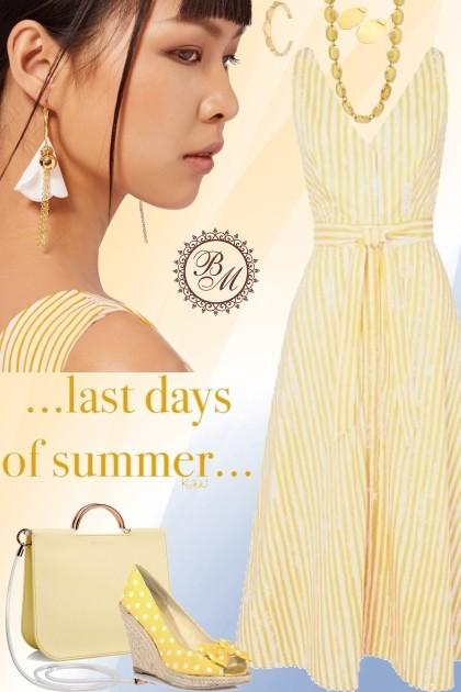 Last Days Of Summer- Combinazione di moda