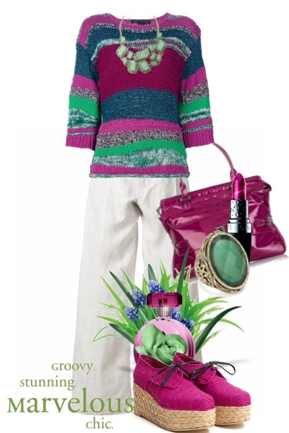 groovy. stunning. marvelous. chic- Fashion set