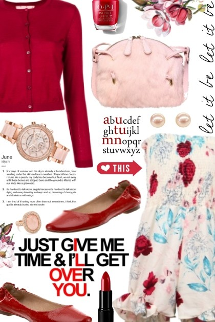 just give me time & i'll get over it- Fashion set
