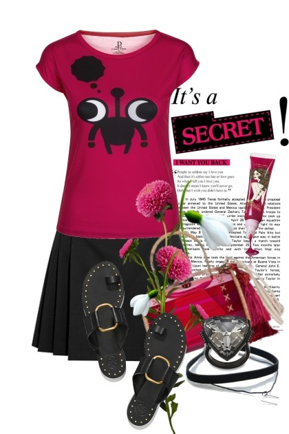 it's a secret, i want you back!- Fashion set