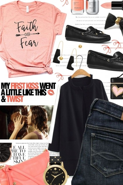 My first kiss went a little like this...- Fashion set