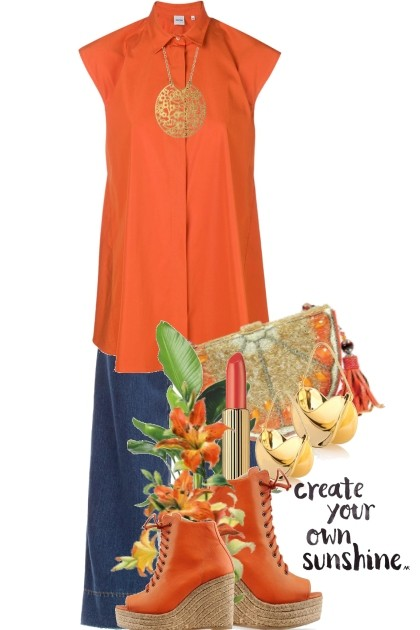 create your own sunshine- Combinazione di moda