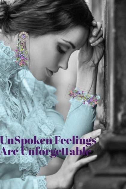 Unspoken Feelings....♥- Fashion set