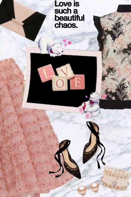 LOVE IS .......................  ♥- Fashion set