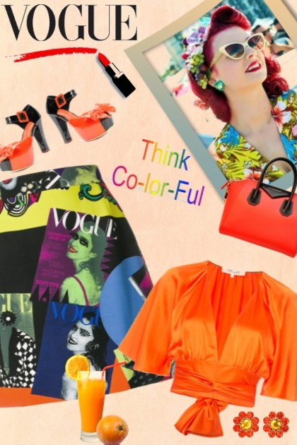 THINK COLOR-FUL- Fashion set