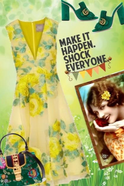 MAKE IT HAPPEN- combinação de moda