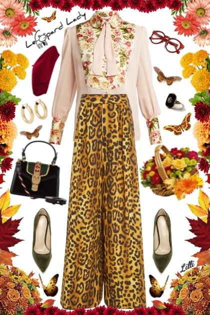 Leopard Lady- Fashion set
