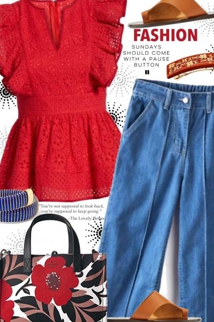 Casual Sunday- Combinazione di moda
