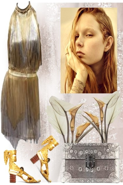 Silver and Gold- Fashion set