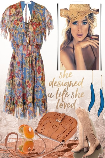 She designed a life she loved- Fashion set