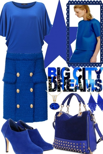 Big City Dreams, one color- Fashion set