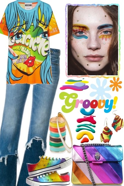 Summer Party, Hippie Style- Fashion set