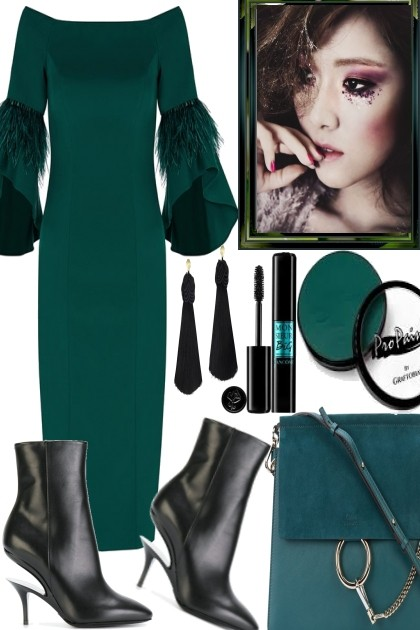 Fall in Green- Fashion set