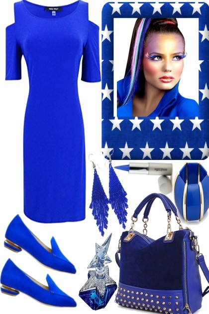 Royal Blue- Fashion set