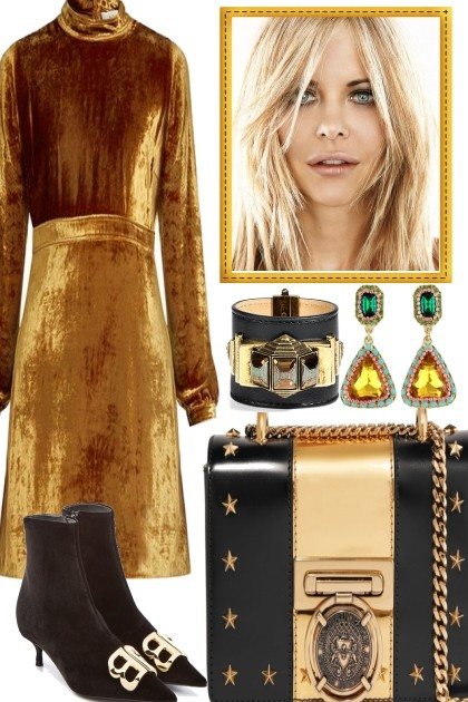 Golden Girl.- Fashion set
