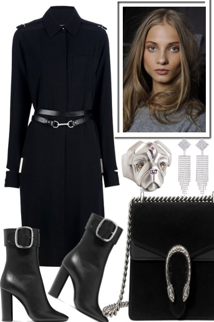 BLACK, BLACK, SILVER- Fashion set