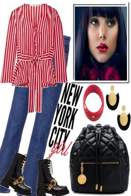 PRETTY GIRL IN NYC- Fashion set