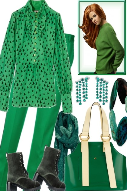 GREEN TODAY- Fashion set
