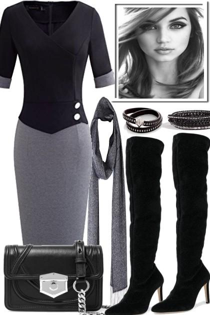 WARM SCARF- Fashion set