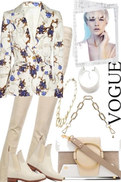 WINTER WITH WHITE.- Combinaciónde moda