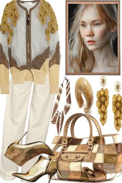 SO GOLD, SO PRETTY- Fashion set