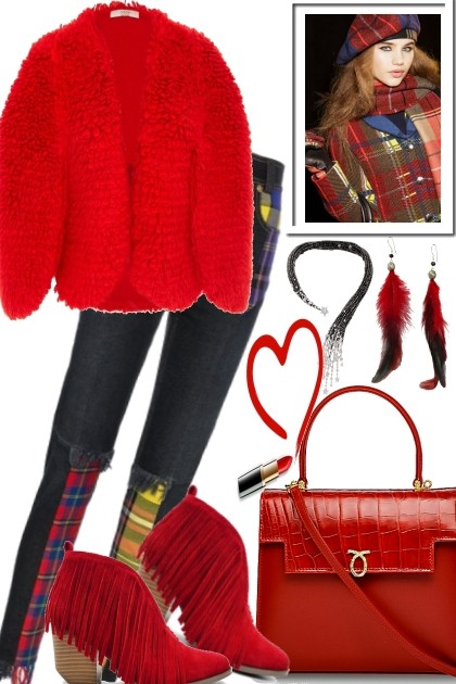 COSY AND WARM FOR LONDON TOWN- Fashion set