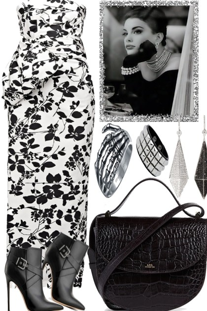 BLACK AND WHITE TONIGHT- Fashion set