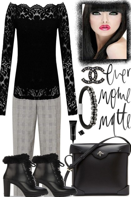 LACE IN THE CITY- Fashion set