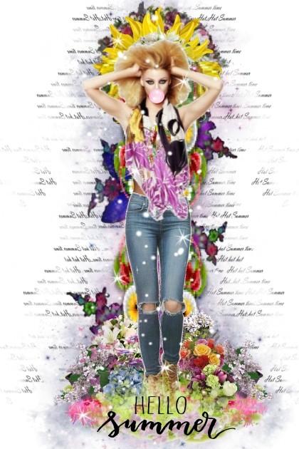 Hello Summer- combinação de moda