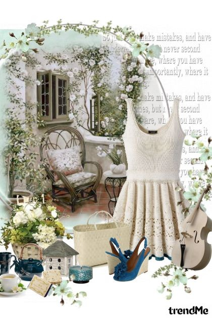Garden with love..- Fashion set