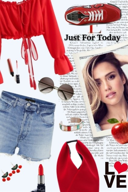 RED DAY- Fashion set