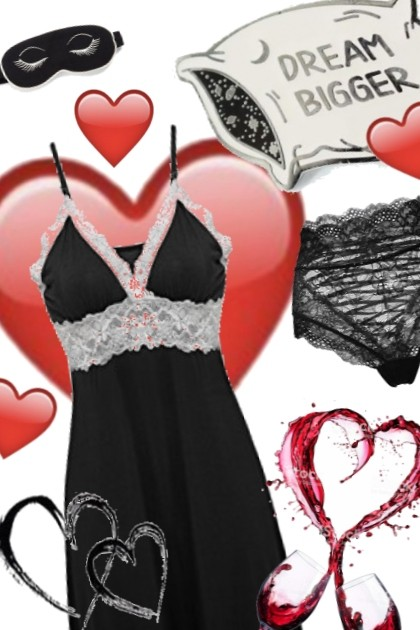 BE MY VALENTIN- Modna kombinacija