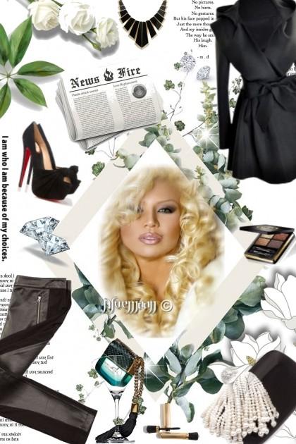 I love the parfum ... by bluemoon- Модное сочетание
