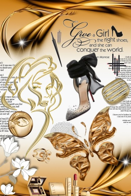 Give a girl the right shoes ... by bluemoon- Fashion set