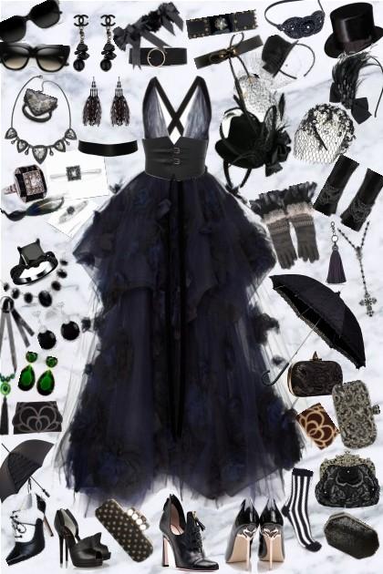 Victorian Gothic Wedding- Fashion set