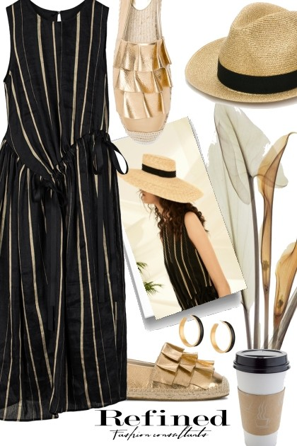 Golden Black- Fashion set
