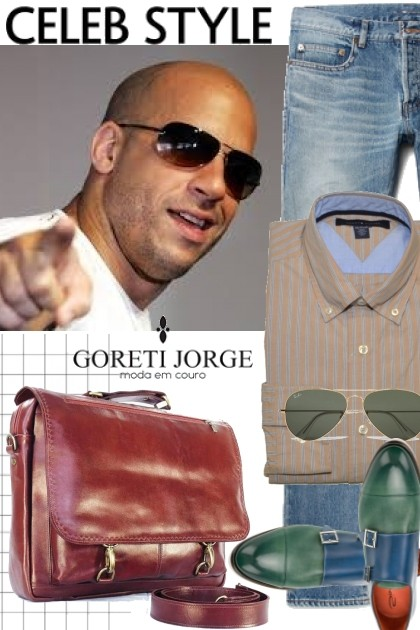 Leather bag Men- Fashion set