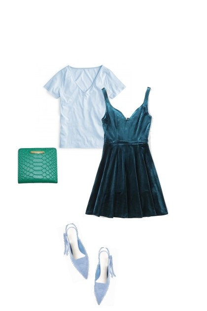 top-dress-1- Fashion set