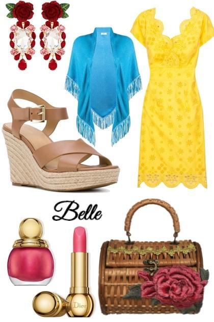 DISNEY PRINCESS - Belle- combinação de moda