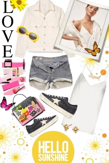 HELLO SUNSHINE- Fashion set