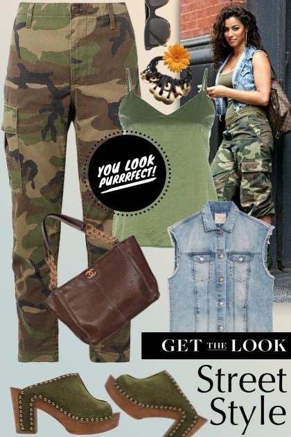 Cool Street style- Модное сочетание