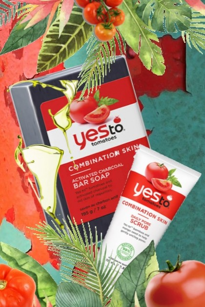 yes to tomatoes skin care- Fashion set