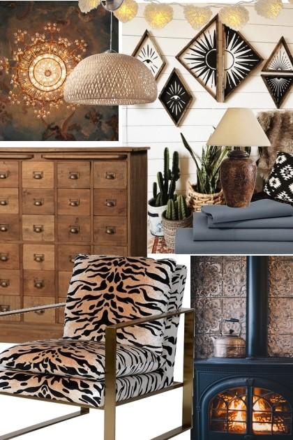 warm living space- Fashion set