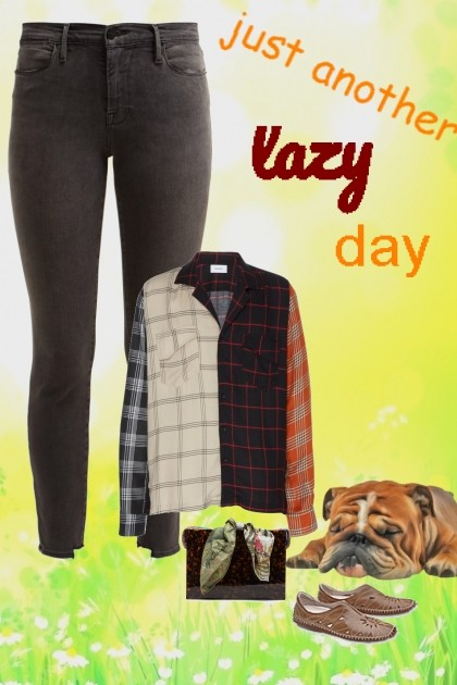 just another lazy day- Fashion set