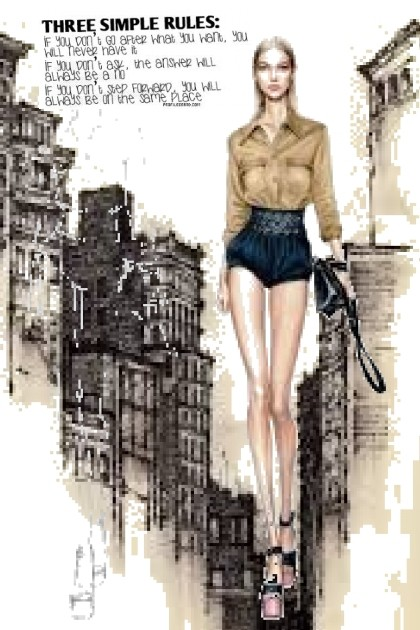 three simple rules- Fashion set