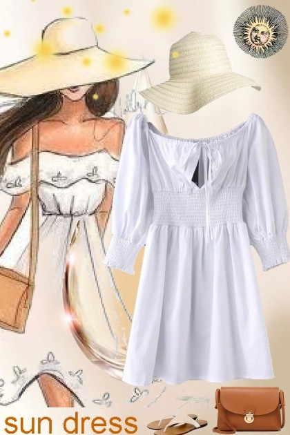 sun dress- Fashion set