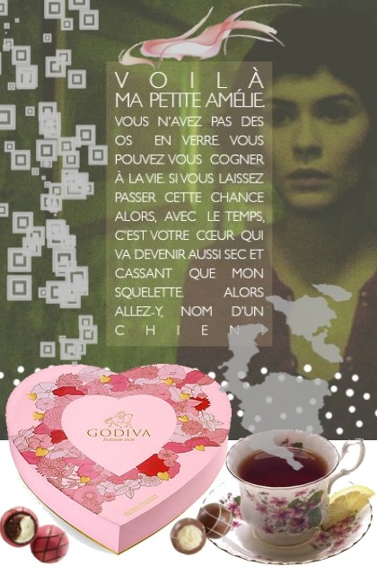 tea  chocolates- Fashion set