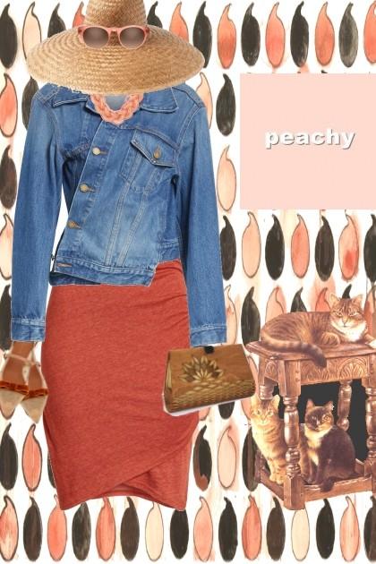 PEACHY WICKER- Fashion set