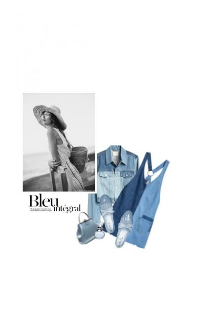 Tout Simplement Bleu / Simply Bue- Combinazione di moda